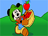 Mickey Mouse Fruit catching