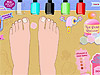 Pedicure Styling